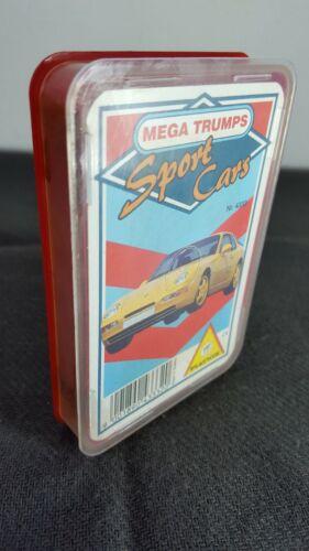 No.4343 ***Rare Mega Trumps Piatnik Sport Cars Cards