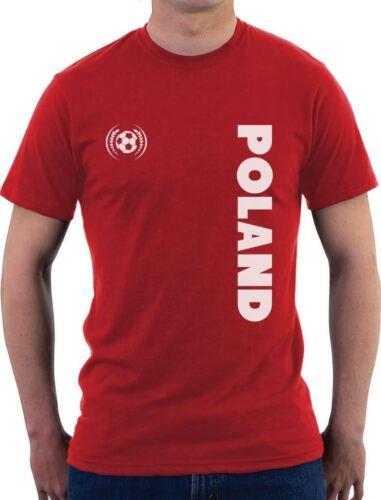 Poland National Football Team Soccer Fans T-Shirt Gift Idea