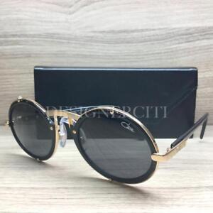 0de1d7ba99 Image is loading Cazal-Mod-644-Sunglasses-Black-Gold-01-Authentic-