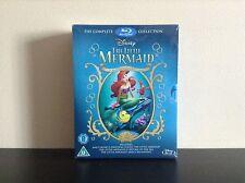 Little Mermaid Trilogy Gift Set (Blu-ray Disc, 2013, 3-Disc Set) *BRAND NEW*