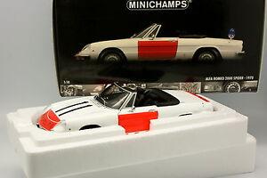 Minichamps-1-18-Alfa-Romeo-2000-Spider-Rijskpolitie-Police-NL