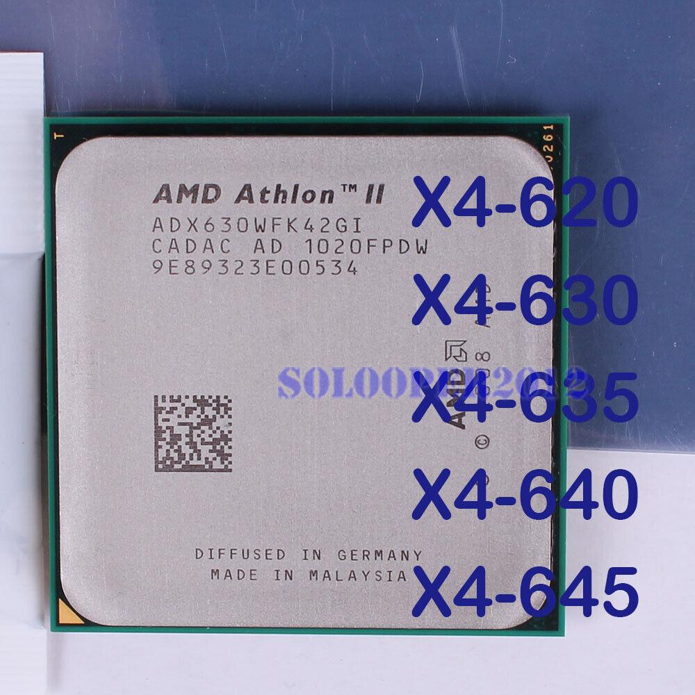 Buy Amd Athlon Ii X4 635 2 9ghz Quad Core Adx635wfk42gm Processor Online Ebay