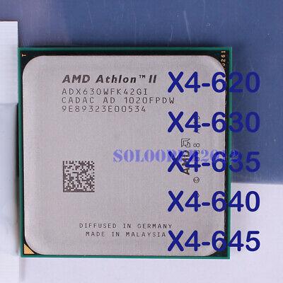 Amd Athlon Ii X4 635 2 9ghz Quad Core Adx635wfk42gm Processor For Sale Online Ebay