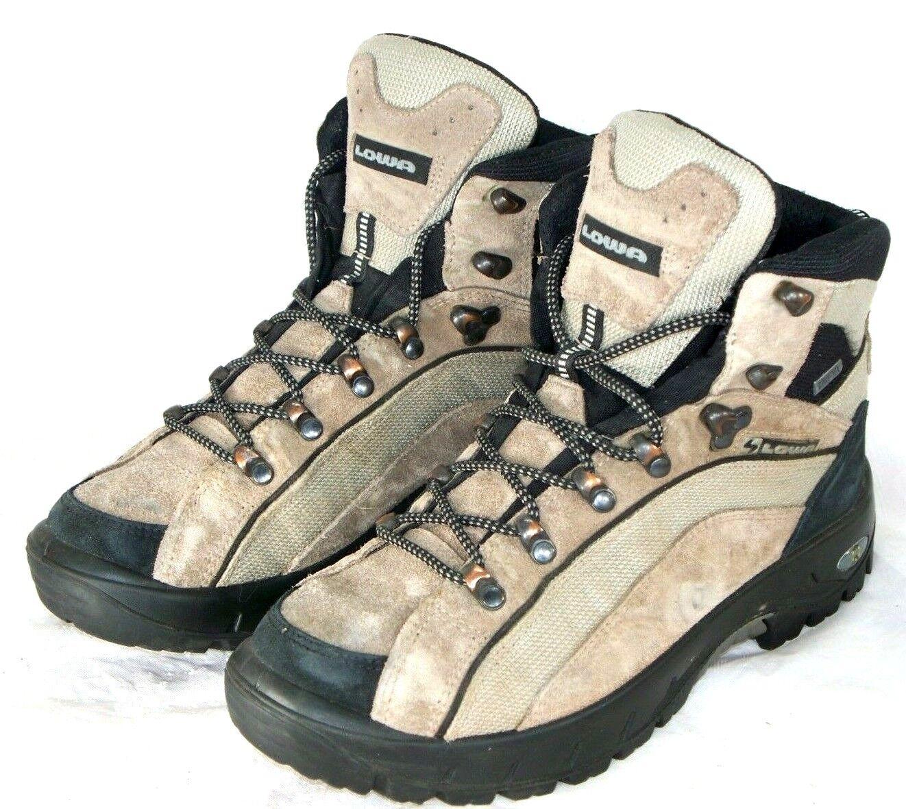 Lowa Klondike GTX Mid Lady Gore Tex Hiking Boots Size 7 Hike Trail Mountain