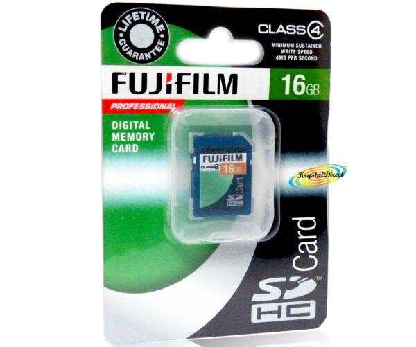 Fujifilm Carte Mémoire Sdhc Professionnel 16 Go Classe 4 Belle Qualité