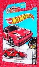 2016 Hot Wheels Night Burnerz 1985 Honda CR-X  #85  DHR05-D9B0H