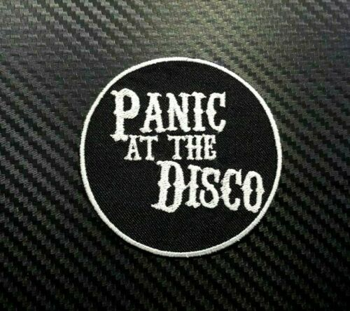 PANIC ROCK MUSIC HEAVY PUNK METAL BAND BADGE Embroidered Iron Sew On Patch Logo