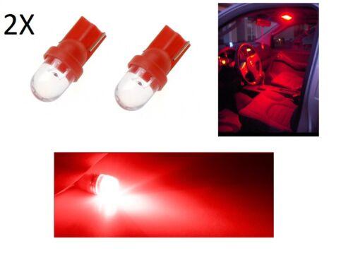 2 Luces Posición LED Blanca Rojo Azul Verde Amarillo RGB T10 Bombilla Coche