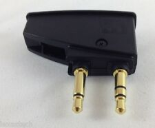 BOSE airline adapter for QC2 QC3 QC15 QC20 QC25 and AE2 AE2W headphones airplane