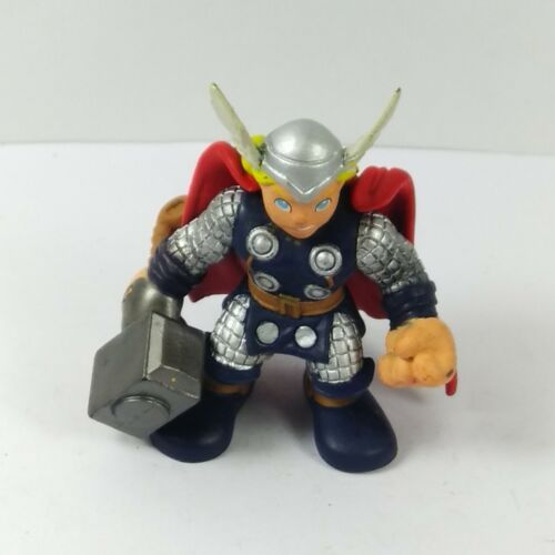 Marvel Super Hero Squad Thor with Grey Hammer Hasbro Action figure 2010