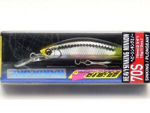 1pc Jackson Pin Tail EZ Sinking Minnow EZ28 Fishing Lure 90mm 28g