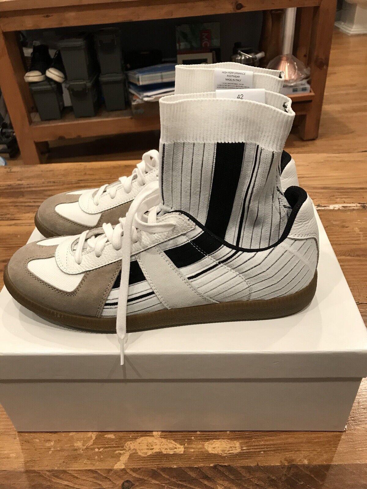 Maison Margiela Replica High Top Sock scarpe - Dimensione 42 EU Dimensione 9 US