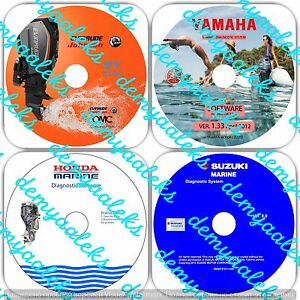 Details about YAMAHA SUZUKI EVINRUDE HONDA Outboard Diagnostic KIT on