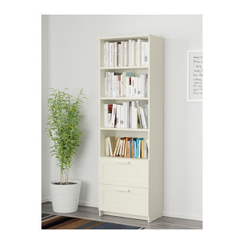 Ikea BRIMNES Libreria Cassettiera Bianco 60x190 cm | Acquisti Online ...