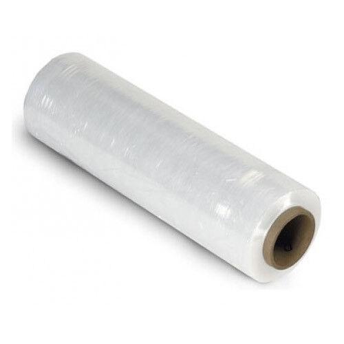 400mmx250mx17mu Flush Core Stretch Film 2 x Rolls of Clear Hand Pallet Wrap