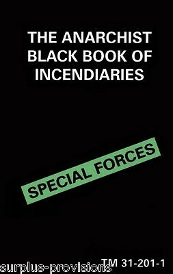 The Black Book of Incendiaries - Field Manual