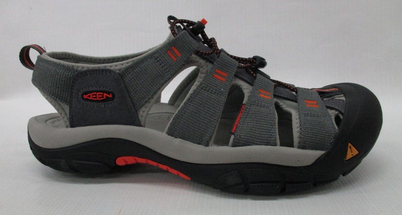 Sandali e scarpe per il mare da uomo Keen uomos Newport H2 1016287 Magnet/Nasturtium Size 10.5