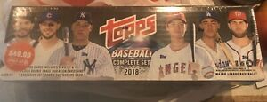 2018-Topps-COMPLETE-BASEBALL-SET-SEALED-Rookie-Acuna-Jr-Gleyber-Trout