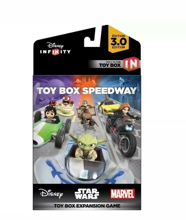 Disney Infinity 3.0 Edition Toy Box Speedway Expansion Game Wii U Xbox PS3
