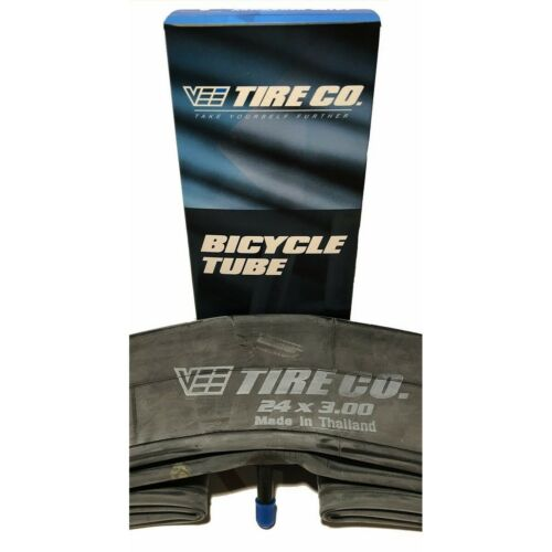 Rubber 24x3.00  24 inch Bike Tire Bicycle Inner Tube Schrader Valve 2 Vee