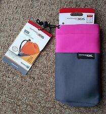 Pink Padded Case Cover Bag for Nintendo 3DS XL 3DS DS lite DSi DS XL New 3DS