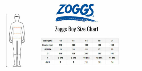 Zoggs Mens Batman Jammer Swimming Shorts Size S M Fitted Trunks RRP £28
