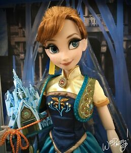 2015-LIMITED-EDITION-Frozen-Fever-Princess-Anna-17-Doll-LE-5000-NIB-NWT