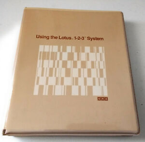 Using-the-Lotus-1-2-3-System-Software-on-Floppy-Disks-Instruction-Manual