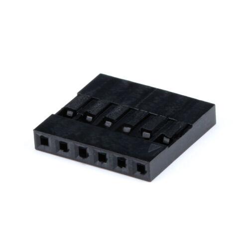 DuPont 2.54mm 1-20P Plug Conector Terminal de múltiples eléctrico plug-in de la vivienda