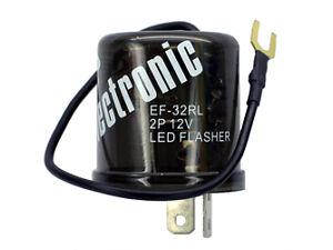 12 volt 2 prong turn signal flasher for both led regular. Black Bedroom Furniture Sets. Home Design Ideas
