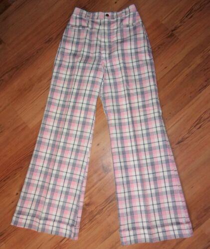 Wrangler 70s plaid pants