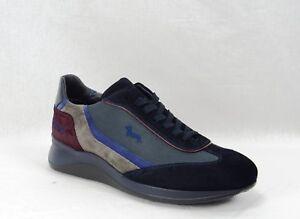 Colore Harmont Blu Per Blaine Camoscio Uomo Sneacker In Navy xY4Wn