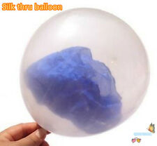 Silk Thru Balloon - Magic Trick,stage magic,props,accessories,fun,party trick