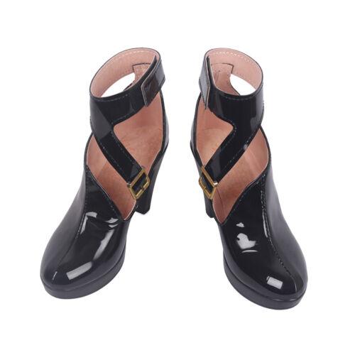 New LOL League of Legends KDA Evelynn Black Cosplay Shoes Women Boots Handmade