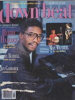 JULY 1986  DOWN BEAT vintage jazz music magazine HERBIE HANCOCK - KENNY BURRELL