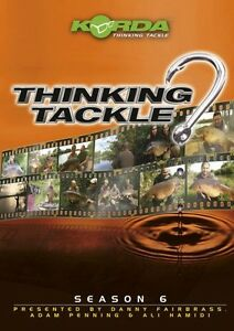 Korda Thinking Tackle Season 6 / Carp Fishing DVD