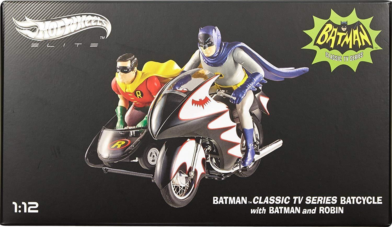 2015 hot wheels - elite batcycle mit batman und robin druckguss - 13.12 uhr  kamelhaar.