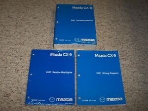 Details about 2007 Mazda CX-9 Workshop Shop Service Repair Manual Set on 2007 mazda 3 wiring diagram, mazda cx 9 door panel removal, 2013 f150 wiring diagram,