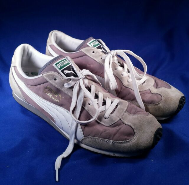 Puma Shoes Whirlwind Racing Retro Brown Grey Athletic Men's Size 13