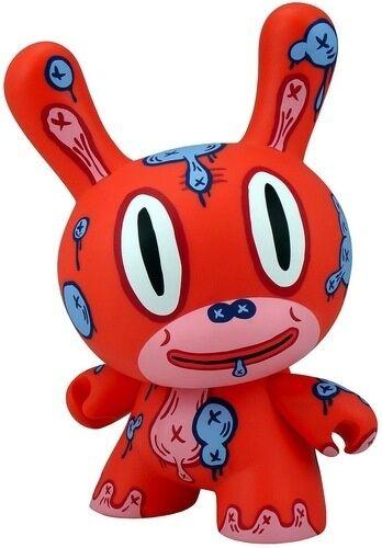 Kidrobot Gary Baseuomo 8   M.O.D. Dunny - rosso version  negozio online