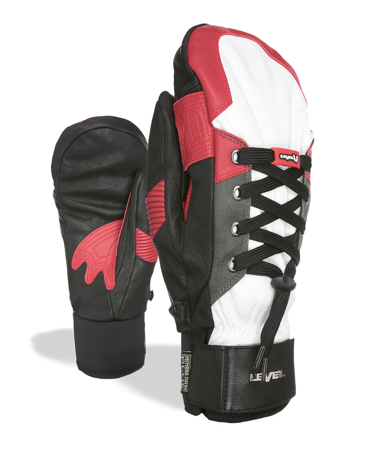Level Guantes Rexford Deportiva color whiteo Impermeable Transpirable