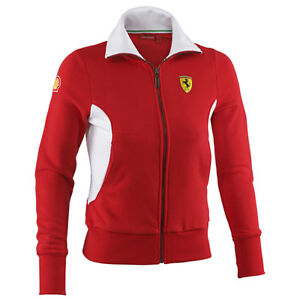 ferrari scuderia zip sweatshirt f1 formel 1 damen jacke. Black Bedroom Furniture Sets. Home Design Ideas