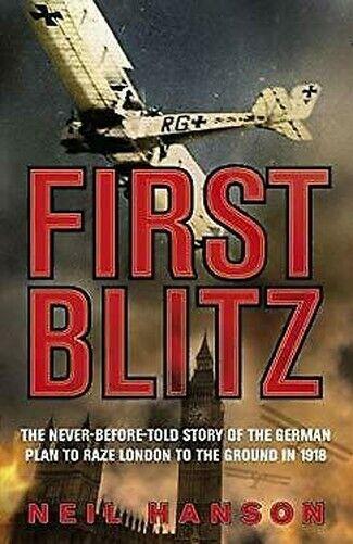 First Blitz Hardcover Neil Hanson