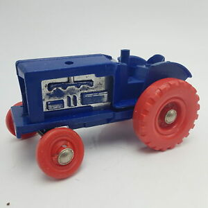 Vintage-MINIC-Wind-Up-Clockwork-Blue-TRACTOR-M250-Spares-Restoration
