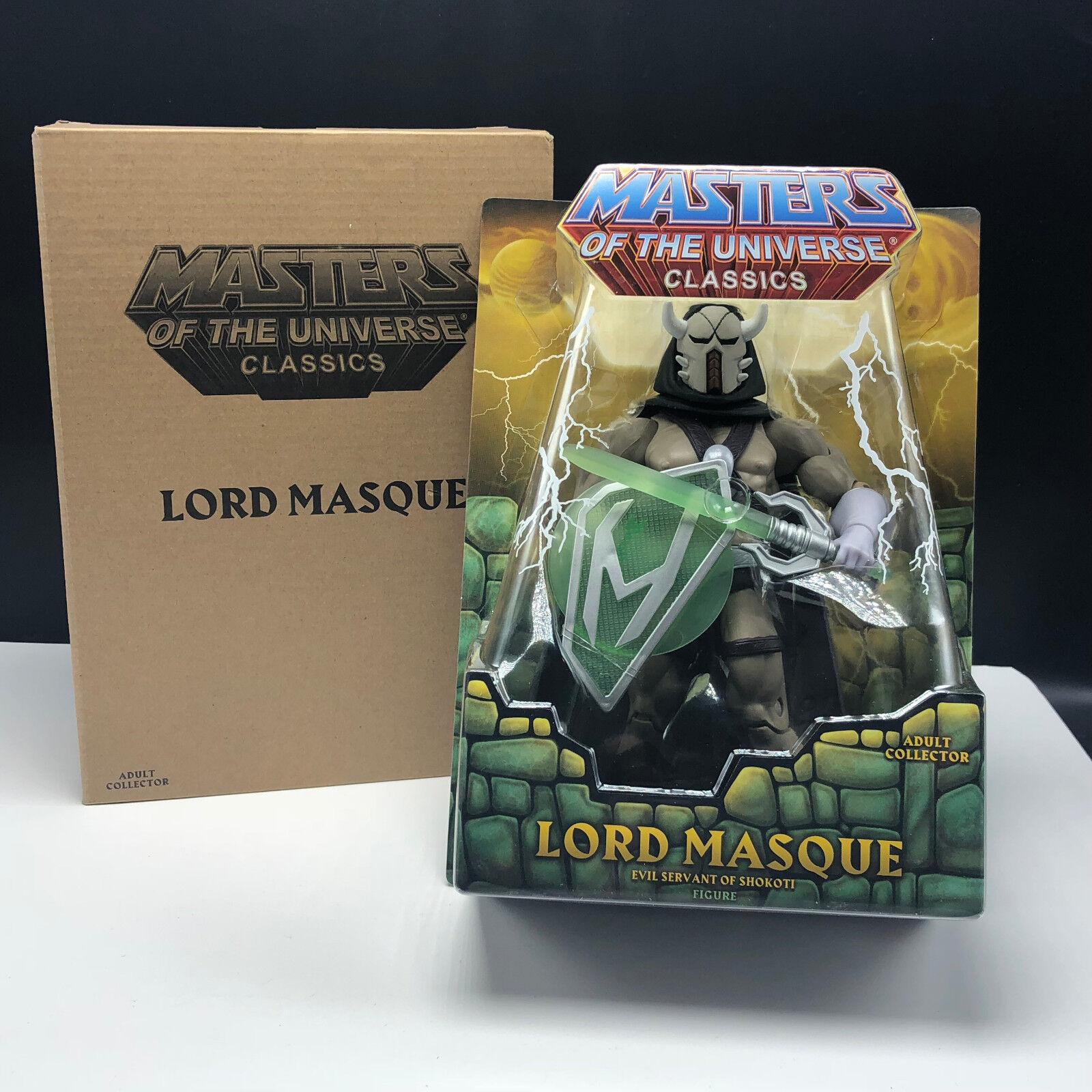 Meister des universums mann klassiker - actionfigur moc mattel herr maske 2