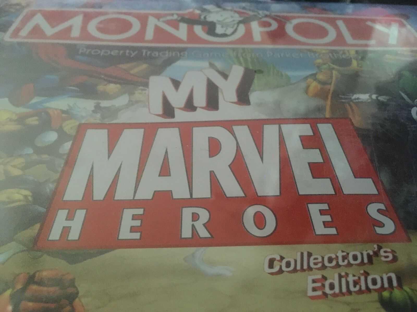'THE MY MARVEL HEROES COLLECTORS EDITION' MONOPOLY GAME  NEVER OPENED