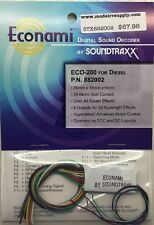 Soundtraxx 882002 ECONAMI ECO-200 DCC DIESEL Sound Decoder     MODELRRSUPPLY-com