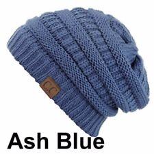 8ac3c0b3f12 CC Beanie Slouch Bubble Knit Cap Baggy Ski Snow Winter Warm Thick Men Women  Hat