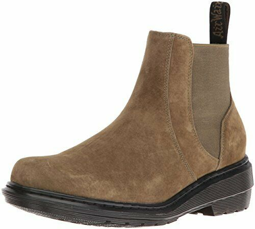 Dr. Martens Comfortable Casual Pamela Chelsea Ankle Leather Synthetic Sole Boot