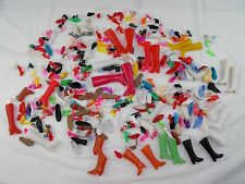 VINTAGE MIXED LOT BARBIE BARBIE CLONE BOOTS SHOES SANDALS SNEAKERS LOT 53